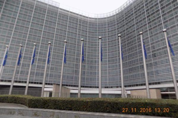 Европейска комисия, Брюксел