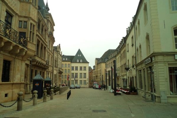 Люксембург, център