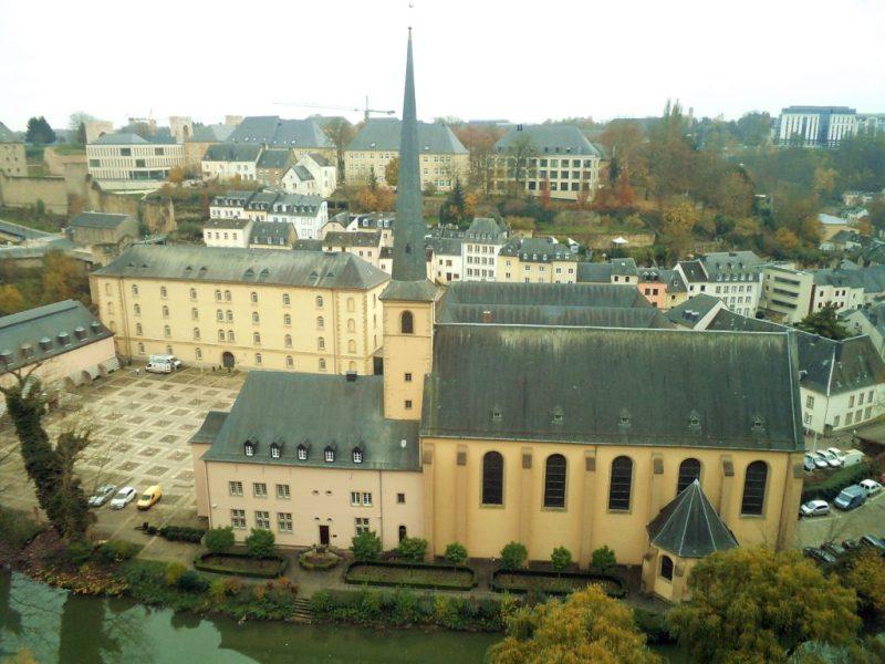 Изглед от Люксембург