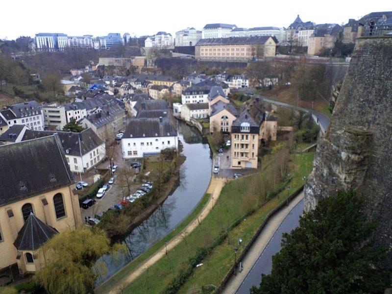 Стария град, Люксембург