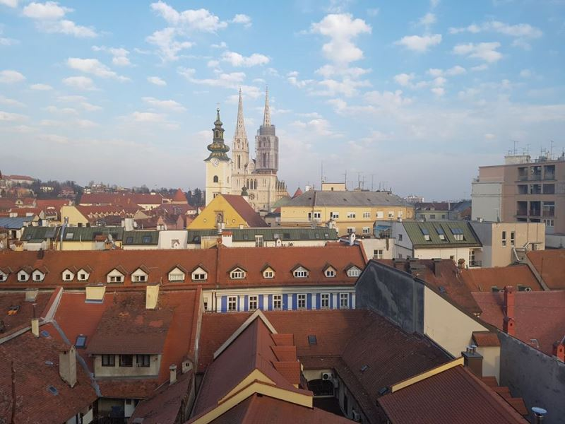 Zagreb and the Cathedral