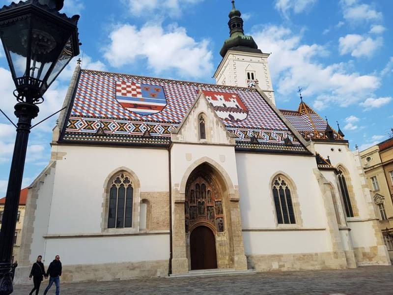 St Marc Cathedral, Zagreb