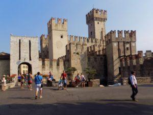 Замъкът Скалигери, Сирмионе, Лаго ди Гарда