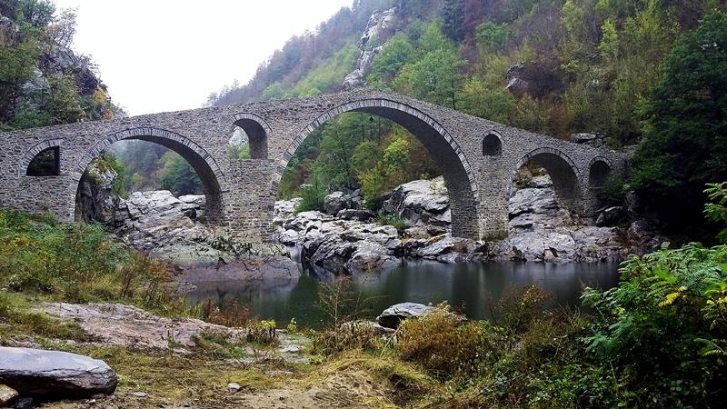 Дяволският мост над р. Арда, Източни Родопи