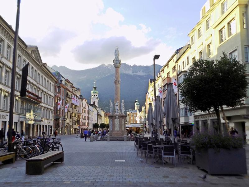 Инсбрук, Стария град