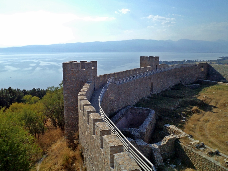 Самуиловата крепост в Охрид