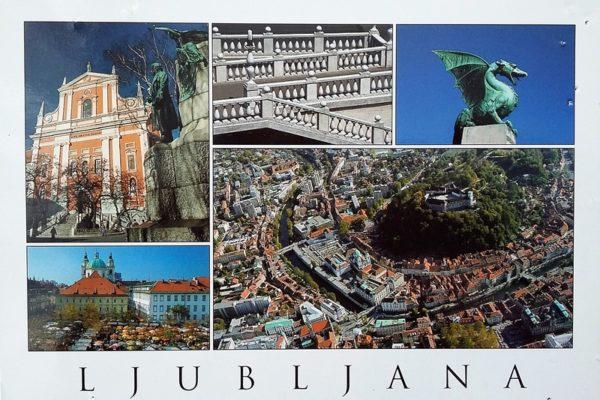 Столицата на Словения - Любляна