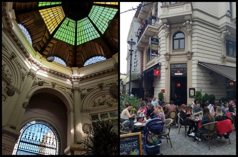 Старият Букурещ и кафене Les Bourgeois