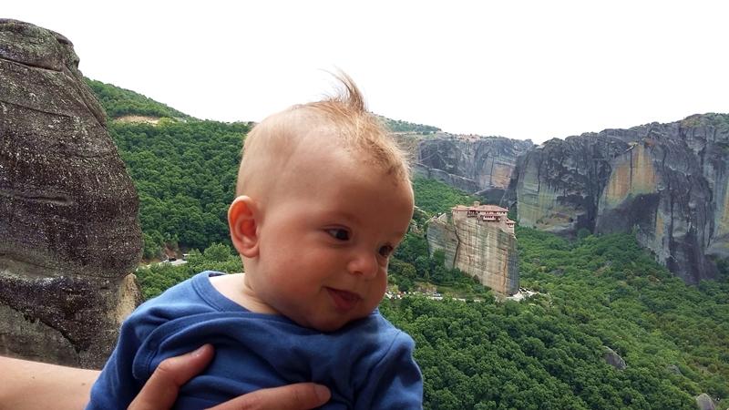 Meteora - pogled ot visochina