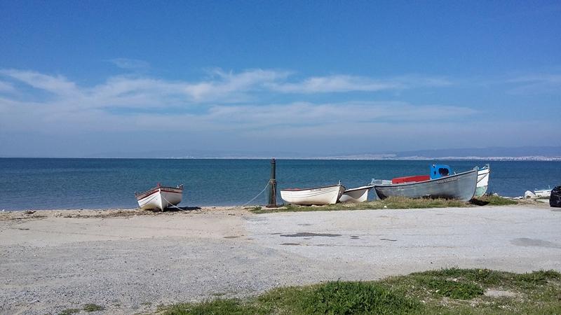 Лодки в Агия Триада, Гърция