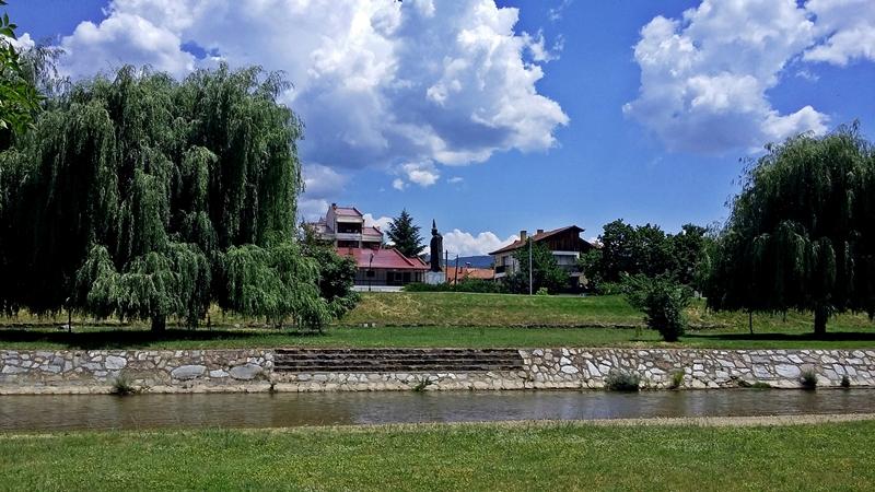 Delchevo kraj reka Bregalnica