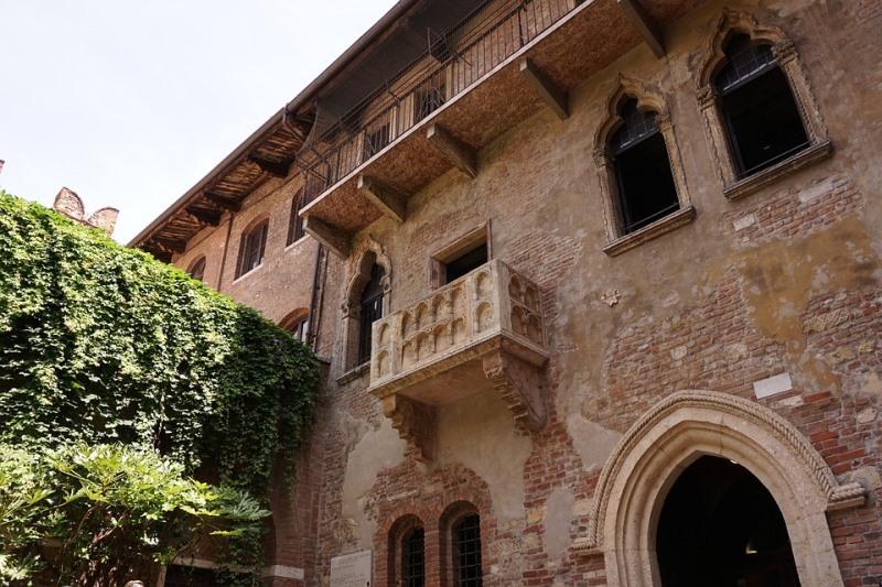 Къщата на Жулиета във Верона