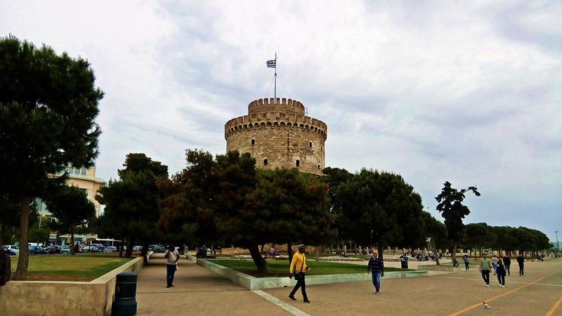 Бялата кула в Солун, Гърция