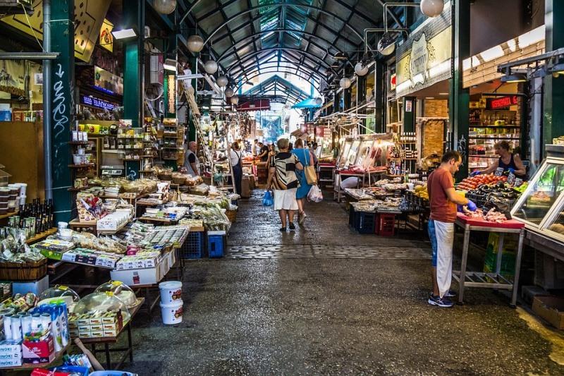 Пазарът в Солун