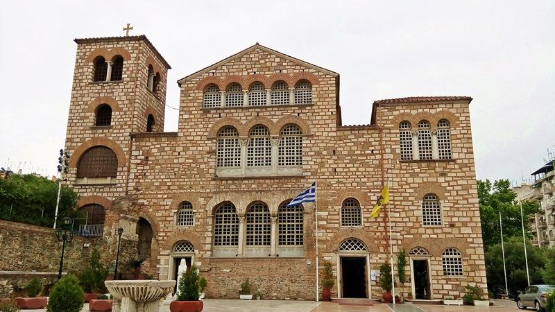 Църквата Свети Димитър в Солун, Гърция