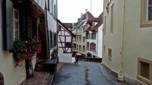 Базел, Старият град